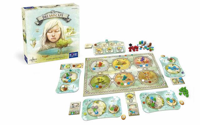 Dreamscape - Spielmaterial