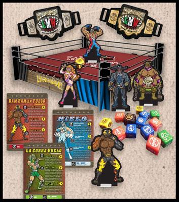 Luchador! - Material