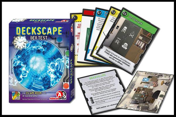 Deckscape: Spielmaterial