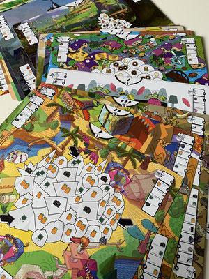 Combo Color - Abenteuerkarten