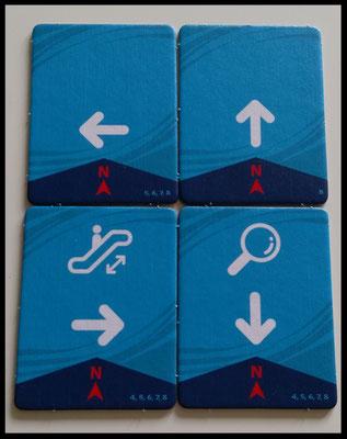 Aktionsplättchen Magic Maze (4 Spieler)