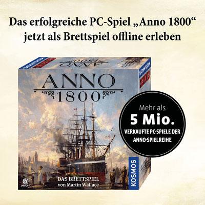 Anno 1800 - Das Brettspiel PC-Spiel