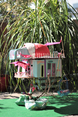 """2. Preis: Martha Thiessen (9) """"Ich liebe Baumhäuser und würde gerne mal in einem Urlaub machen."""""""