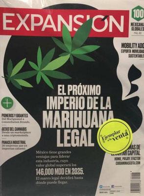 Revista Expansión: El Próximo Imperio de la Mariguana Legal