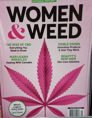 Revista Women & Weed: The Rise of CBD