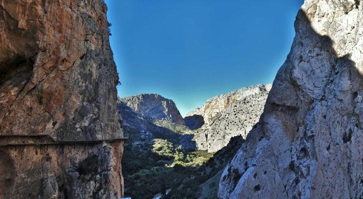 Caminito del Rey - Panoramaaufnahme