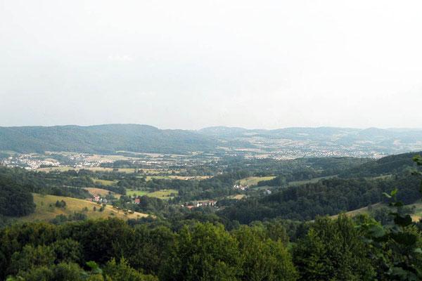 Schöne Aussicht bei Lautertal-Gadernheim