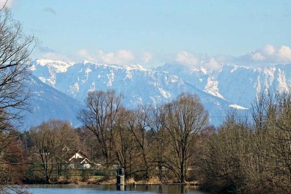 Panoramablick in Bad Aiblingen