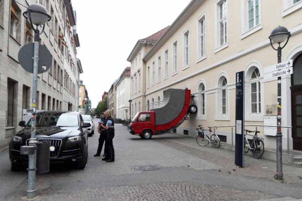 Platzsparendes Parken in Karlsruhe