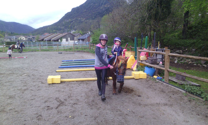 "Le stage ""poney indien"" et son grand jeu"
