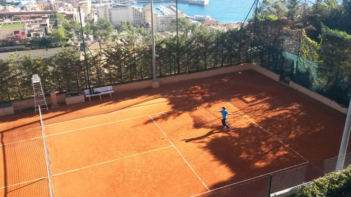 Alexander - Equipe 11/12 ans du TC Monaco