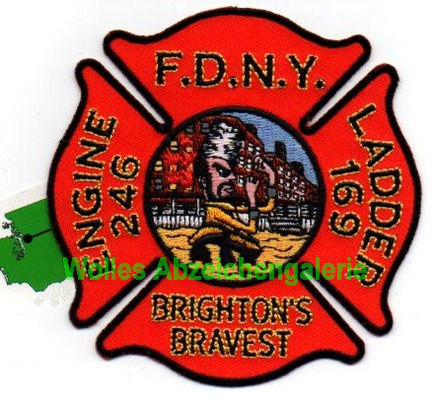 "FDNY Engine 246 Ladder 169 ""Brighton's Bravest"""