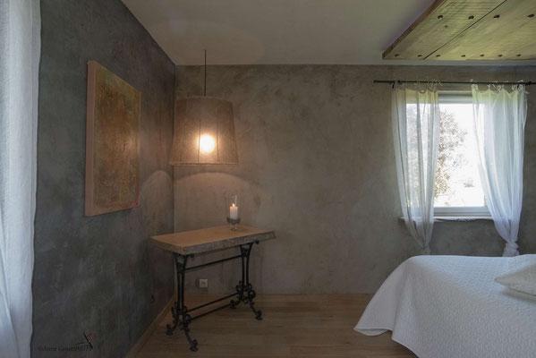 La Maison du Vivier, gîte 6 personnes à Durbuy -  Chambre 2 avec lit de 2 personnes (160cm)