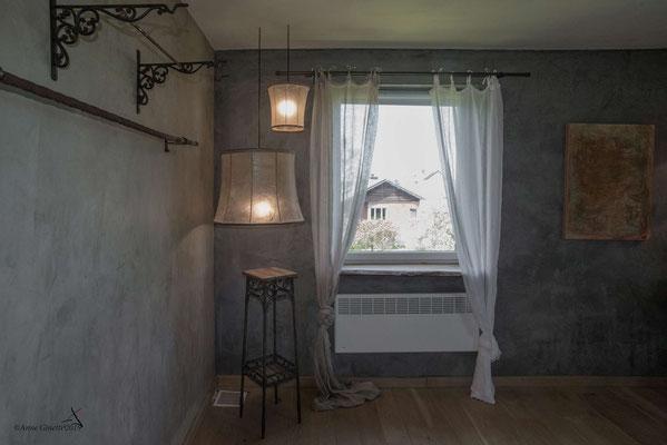 La Maison du Vivier, gîte 6 personnes à Durbuy - Chambre 2 avec lit de 2 personnes