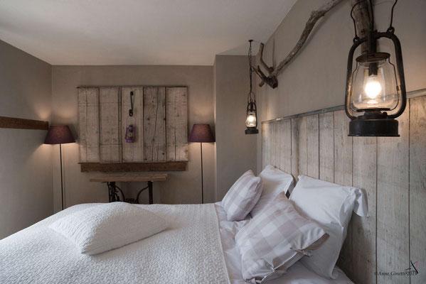 La Maison du Vivier, gîte 6 personnes à Durbuy - Chambre 3 avec lit double