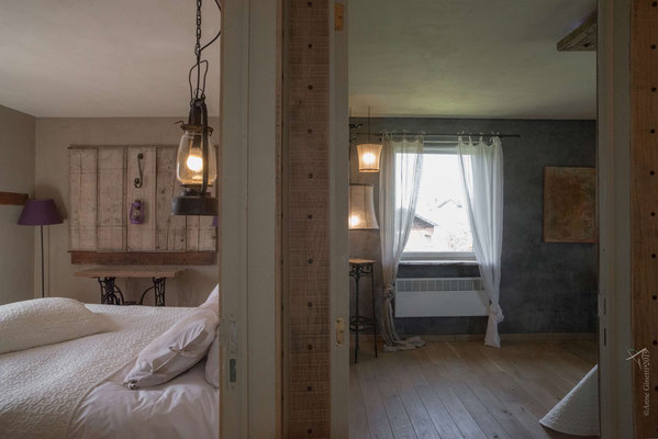 La Maison du Vivier, gîte 6 personnes à Durbuy - Vue sur chambre 2 et 3