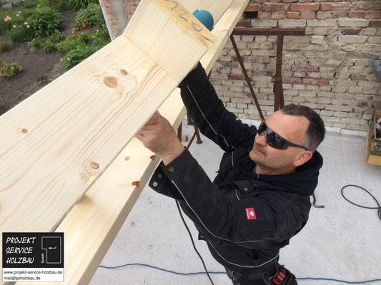 Montage Holzrahmenbau