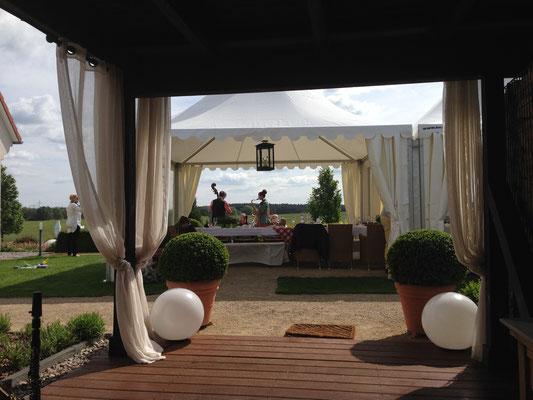Zeltvermietung Marwitz Pagodenzelt zum Hochzeitstag Pagodenzelte 5x5m Festzelt Zeltverleih Oberhavel Partyzelt mieten Zeltpagode 3x3m Pavillon