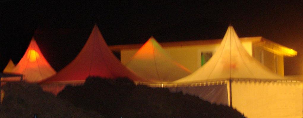 Zeltvermietung Marwitz Pagodenzelt sternförmig zur Hochzeit Pagodenzelte 5x5m Festzelt Zeltverleih Oberhavel Partyzelt mieten Zeltpagode 3x3m Pavillon