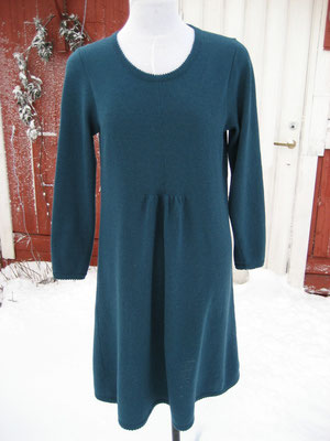 merino dress green