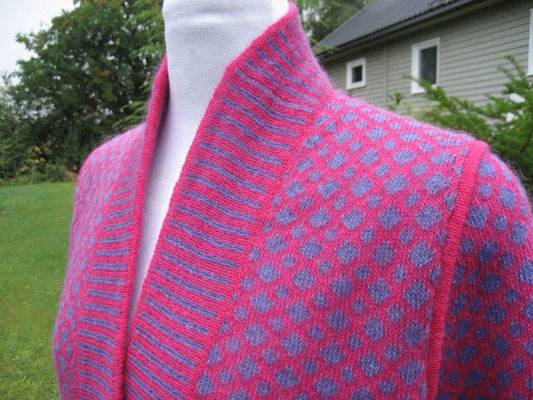 single thread shawl collar cardigan