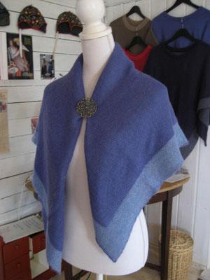 poncho as a shawl