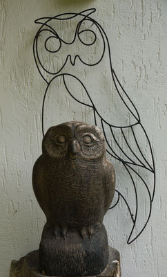 unser Maskottchen (Foto:NABU-Oberbiel)