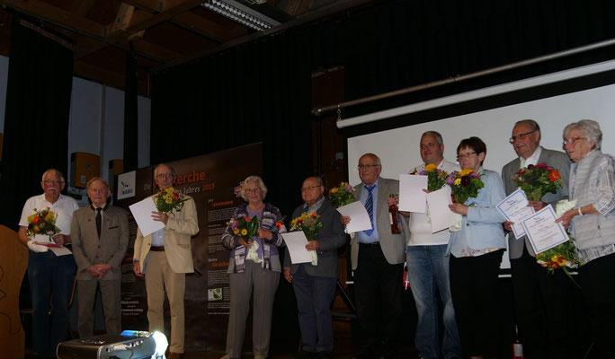 langjährige Mitglieder (Foto:NABU-Oberbiel)