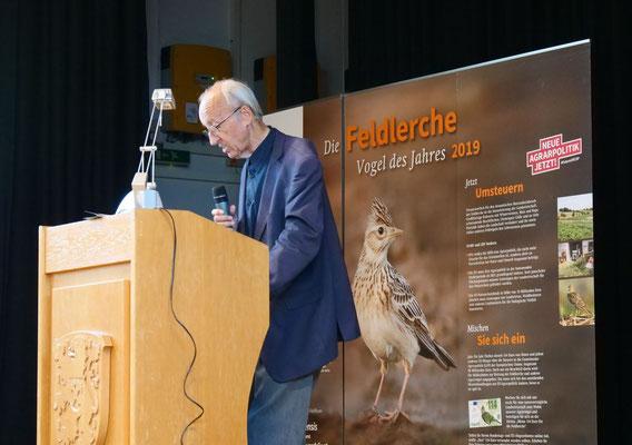 NABU Kreisverbandsvorsitzender Walter Veit (Foto:NABU-Oberbiel)