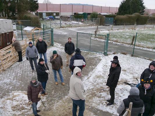 Das Winterquartier der Schafe und Ziegen (Foto: NABU-Oberbiel)