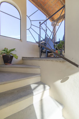 Stairs to Roofdeck
