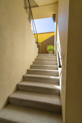 Stairs to Apartment