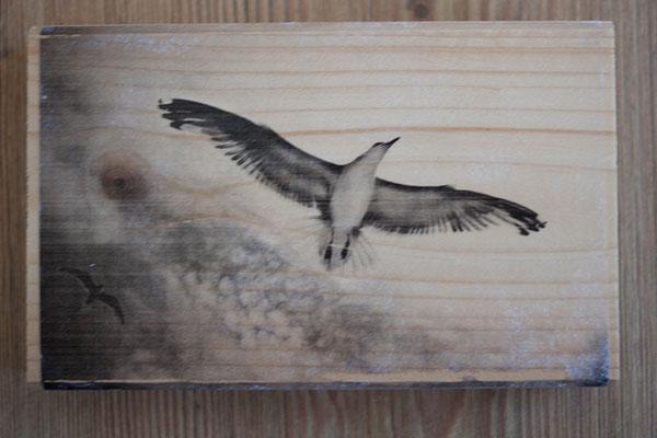 Bild auf Holz - 21