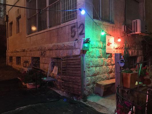 Entree du sous sol Yirmiyahou 52