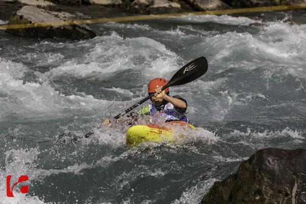 Kanu WM 2018 Muota — Schweizer Meisterschaften und International Kayak-Cross Muota 2018