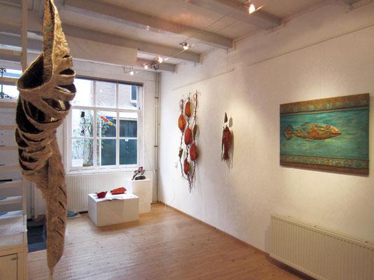 Baken: in Galerie Langedwars Gouda viltcocon