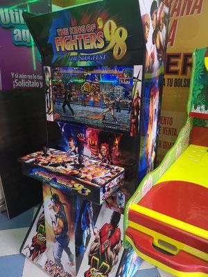 maquina arcade videojuegos king of fighters, Fabrica de maquinas arcade