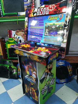 Maquina arcade 32 modelo minijumbo