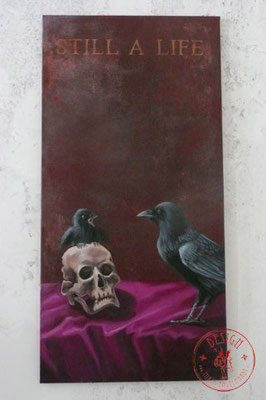 Still a life; 50x100; Öl auf Leinwand/Oel on canvas;2017