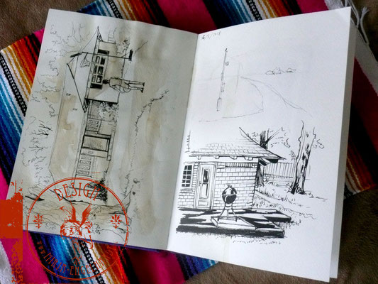 Lawton/ Oklahoma; Skizzenblock/Sketchbook