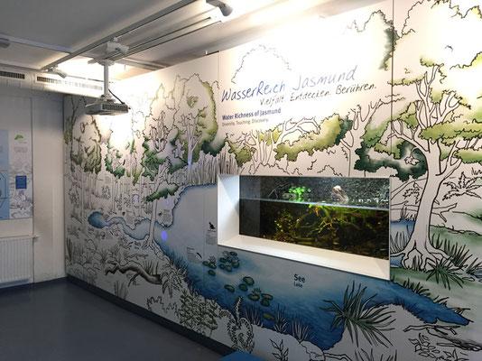 Der Weg des Wassers/Rügener Nationalmuseum;  Kunde Client: Impuls Design GmbH & Co KG