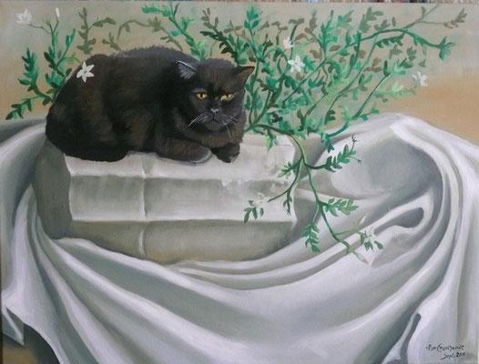 Öl auf Leinwand/ Oel on canvas; Auftraggeber Client: Kersten; 2011