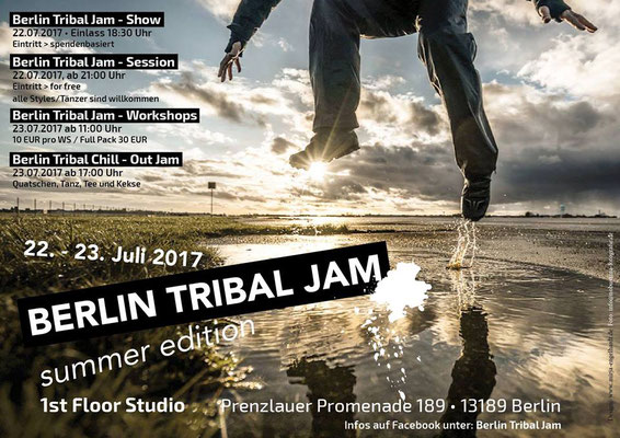 Kunde / Client: Berlin Tribal Jam