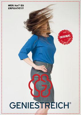 Plakat/Poster: Kunde / Client: Geniestreich -Jeans