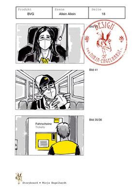 Kunde / Client: BVG - Allein Allein