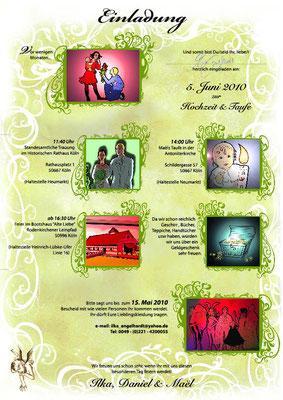 Hochzeitskarte; Kunde / Client: Engelhardt