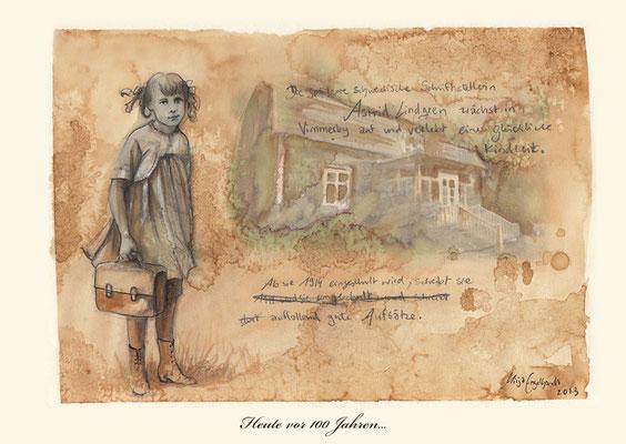 Astrid Lindgren 1914