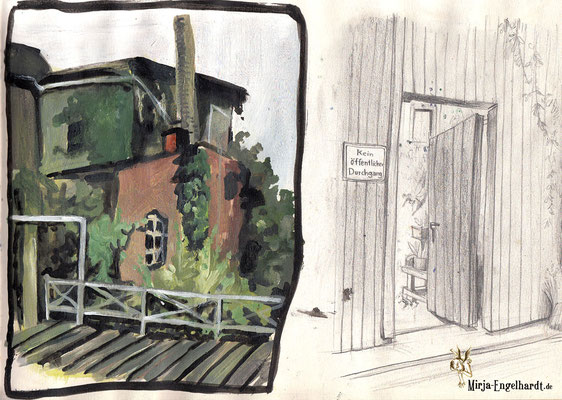 Friedberg; Skizzenblock/Sketchbook
