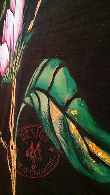 Malerei auf Seide/ Painting on silk;  Kunde /Client: H. Meixner