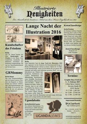 Freie Arbeit / Individual artwork 2017
